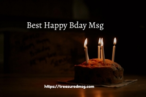 Happy Bday Msg