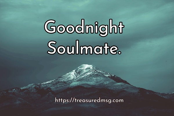 Goodnight Soulmate