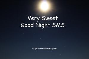 Very Sweet Good Night SMS