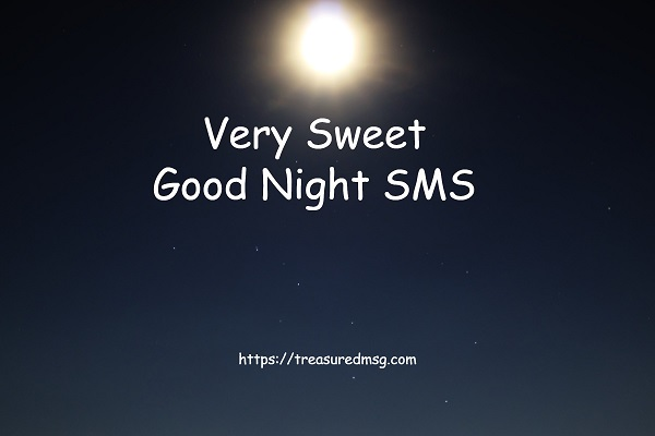 Very Sweet Good Night SMS