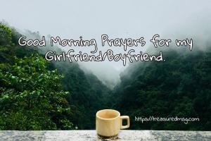 Good Morning Prayers for my Girlfriend_Boyfriend