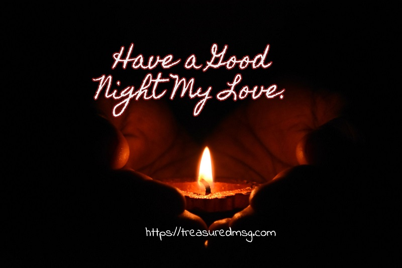 Have a Good Night My Love