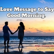 Love Message to Say Good Morning