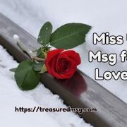 Miss U Msg for Lover