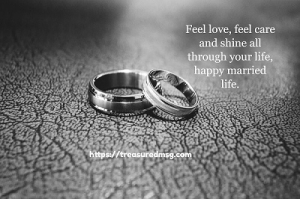 happy marriage life quote